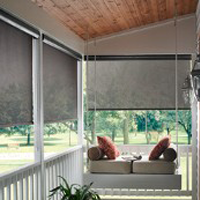 Large Porch Blinds